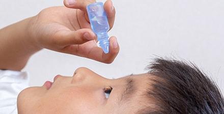 子供の近視進行抑制治療